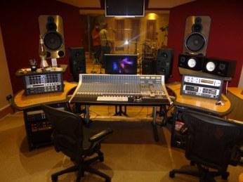 Recording 'Shifting Circles' @ Blast Studios, Newcastle