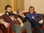Chris Johnson, Sarah Tyler and Dave Hay @ Blast Studios, Newcastle