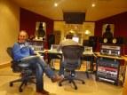 With Martin Neil, producer, @ Blast Studios, Newcastle