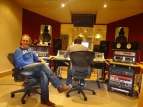 With Martin Neil, producer, @ Blast Studios, Newcastle
